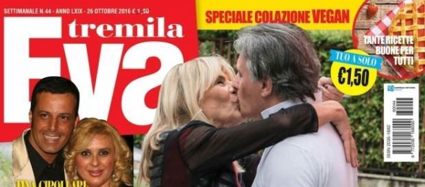 Uomini e Donne: Gemma Galgani e Giorgio Manetti si baciano sulla copertina di Eva 3000