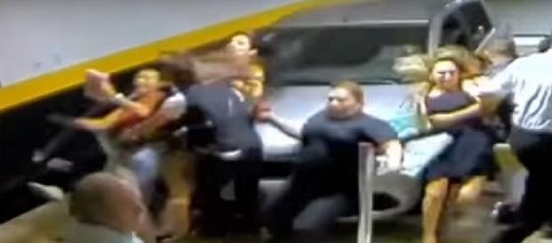 Vídeo do acidente no Templo de Salomão foi gravado pelas câmeras de segurança