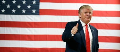 Donald Trump and his red tie! Photo: Blasting News Library - sltrib.com