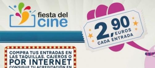 La Fiesta del cine vuelve del 24 al 26 de octubre, con las entradas a 2,90 euros.