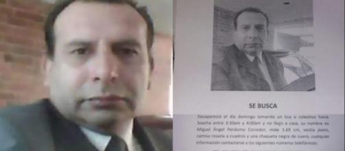 Miguel Ángel Perdomo, ex conductor de la directora de Noticias Uno