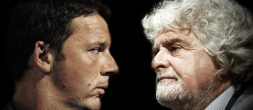 Riforma pensioni, Beppe Grillo contro Matteo Renzi - foto in20righe.it