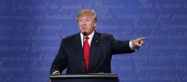 Donald Trump refers to partial-birth abortion myth during final presidential debate / Photo by Rick Wilking, Blasting News library