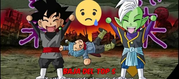 Dragon Ball Super baja del top 5