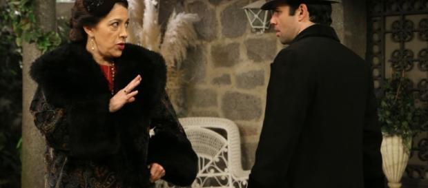 Francisca Montenegro con Carmelo Leal.