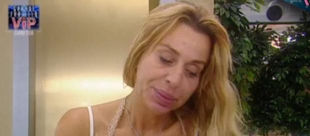 GF VIP: Valeria Marini litiga con la Casalegno.
