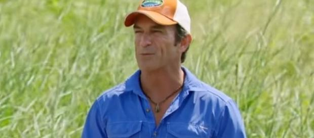 "Jeff says ""drop your buffs"" via YouTube CBS Survivor"