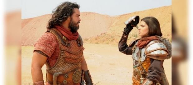 Josué descobre que o Soldado Mascarado é Aruna