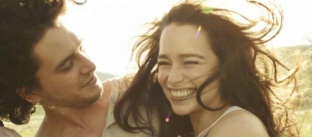 Kit Harington e Emilia Clarke podem ter gravado cenas para Game of Thrones juntos
