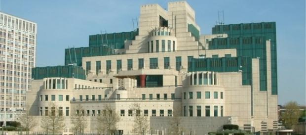 Les bureaux du service renseignements MI6 à Londres