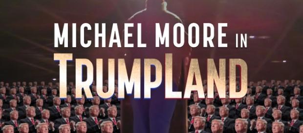 Locandina del film di Michael Moore