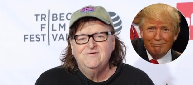 Michael Moore faz documentário sobre Trump