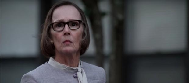 "Mr. Kaplan (Susan Blommaert) in ""The Blacklist""/Photo via screencap, ""The Blacklist"""