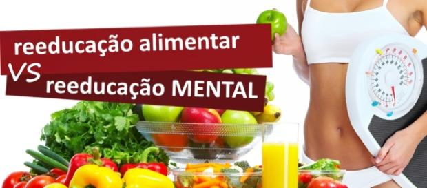 Se reeduque com uma alimentação totalmente saudável.