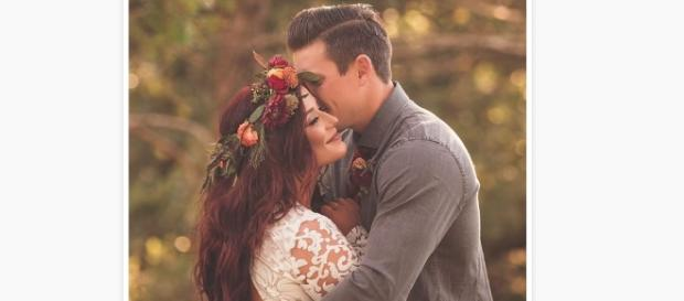 Teen Mom's Chelsea Houska shares wedding photo on Instagram via @chelseahouska