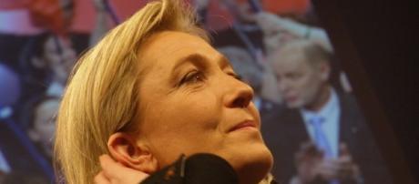 Marine Le Pen montée sondages - CC BY