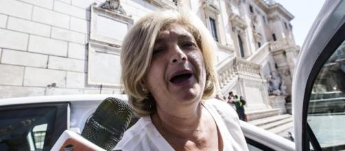 Paola Muraro, assessore all'Ambiente di Roma. Foto Ansa.