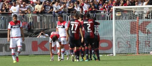 """Sconfitta per il Crotone allo Stadio """"Sant'Elia"""" di Cagliari."""