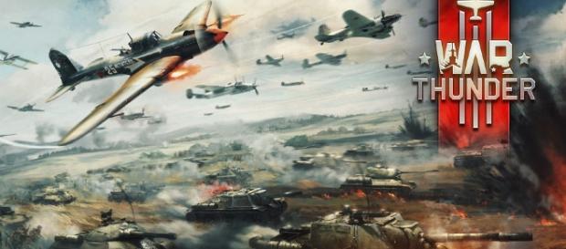 Affiche du MMO militaire War Thunder