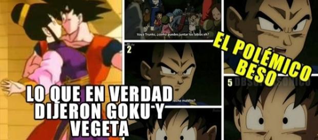 El polémico diálogo entre Goku y Vegeta sobre el beso de Trunks y Mai en Dragon Ball super. ¿Goku nunca ha besado a Milk (chichi)?