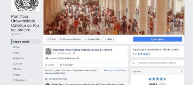 Post contra Flávio Bolsonaro vira polêmica no Facebook