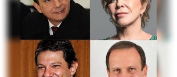 Principais candidatos à prefeitura de São Paulo estão confiantes