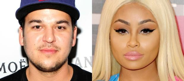 Rob kardashian and Blac Chyna - eonline.com