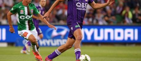 10-man Newcastle Jets beaten in Perth | Photos | Daily Liberal - com.au