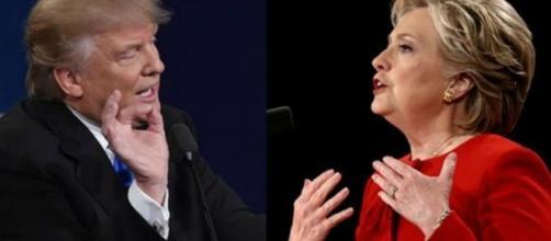 Dibattito televisivo Hillary Clinton Vs Donald Trump.
