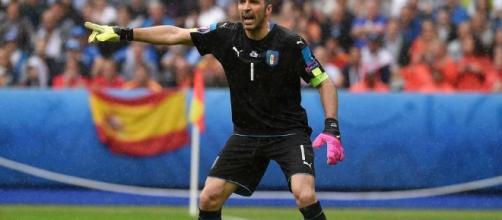 Gianluigi Buffon, leyenda del fútbol italiano.