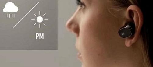 L'oreillette intelligente Xperia Ear