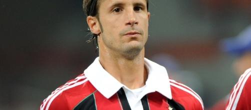 Luca Antonini ai tempi del Milan