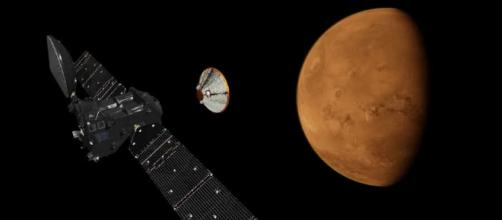 Missing Mars lander Schiaparelli may have ditched parachute too ... - expressandstar.com