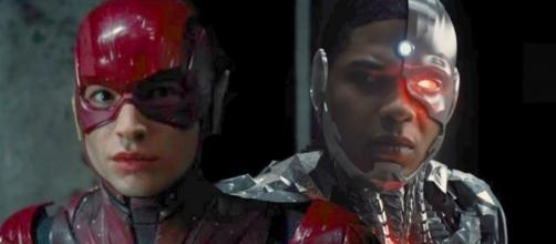 New Look At Justice League Cyborg & The Flash Costumes - Cosmic ... - cosmicbooknews.com