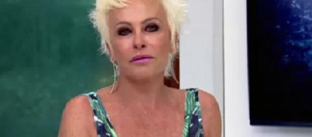 Ana Maria Braga está irritada com mentiras em seu nome