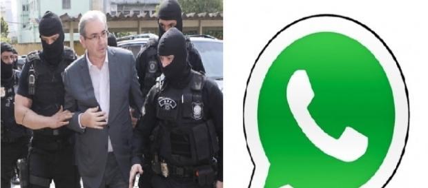 Cunha foi excluído do grupo de Whatsapp do PMDB