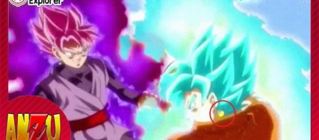 DBS avance de la pelea Black vs goku