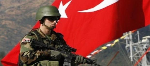 Esercito turco alla battaglia di Mosul