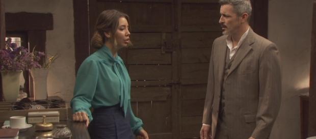 Il Segreto: Alfonso tradisce Emilia