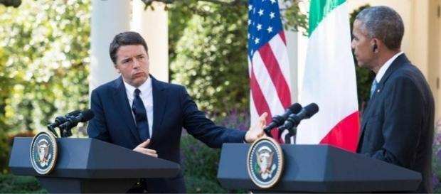 Il vertici di Matteo Renzi con Barack Obama