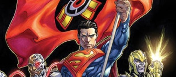 'Injustice: Gods Among Us Year Five #20' cover   by David Yardin (DCComics.com)