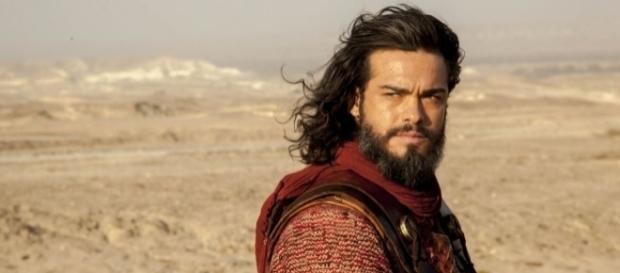 O protagonista da trama, Josué, interpretado pelo ator Sidney Sampaio - Reprodução/Internet