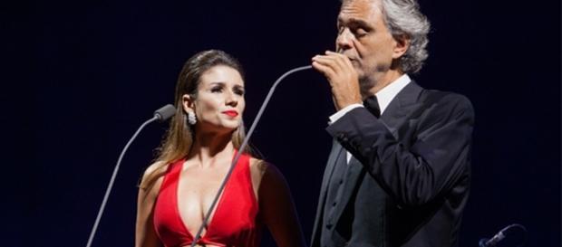 Paula Fernandes fala sobre o que aconteceu no dueto com Andrea Bocelli