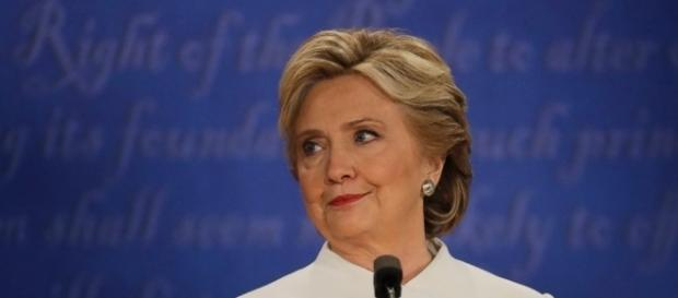 Third Presidential Debate: Hillary was perturbed. Photo: Blasting News Library - ABC News - go.com