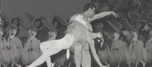 Yvette Chauviré danse dans Les Dryades