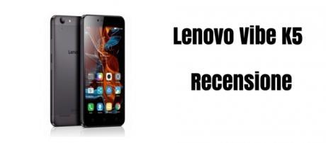 Lenovo Vibe K5: recensione smartphone low cost