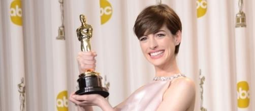 Anne Hathaway agli Academy Awards 2013