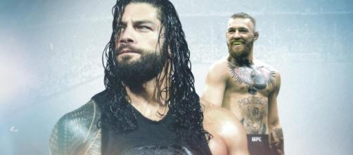 Could we see Roman Reigns vs. Conor McGregor in WWE? (image via WWE.com)