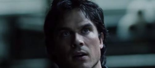 Damon off the rails in season 8 via YouTube The CW