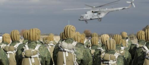 Esercitazioni di militari russi